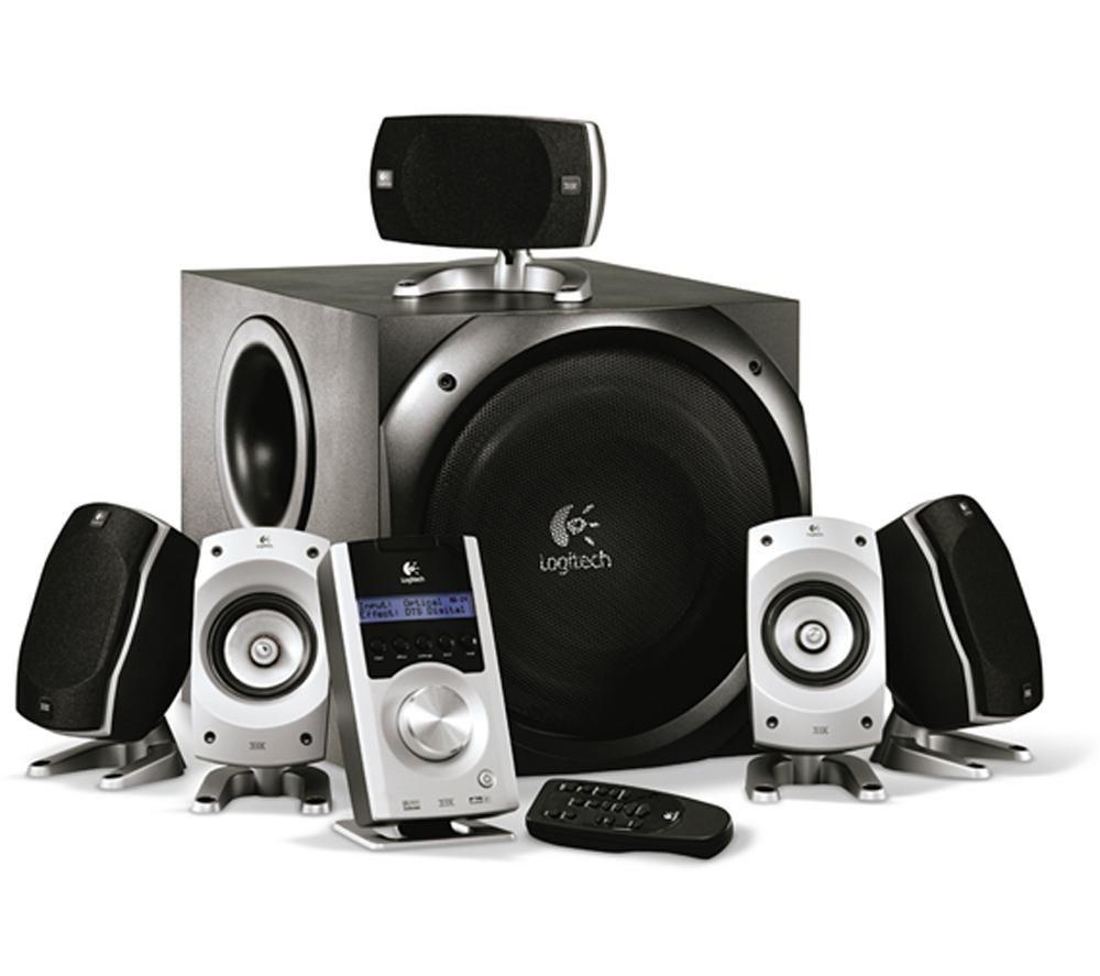 Home Audio Logitech Z-5500 Digital 5.1 Speaker System